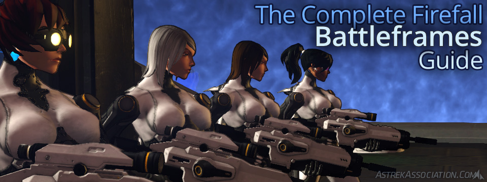 The Complete Firefall Battleframes Guide