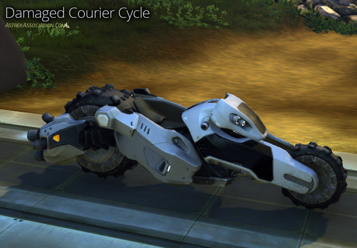 Damaged Courier Cycle